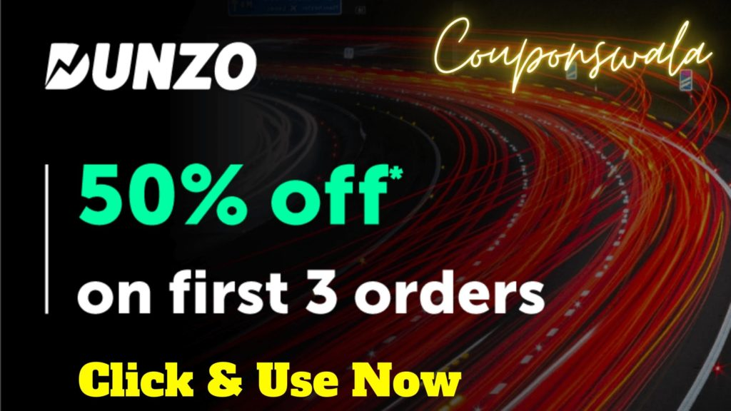 Dunzo Offers