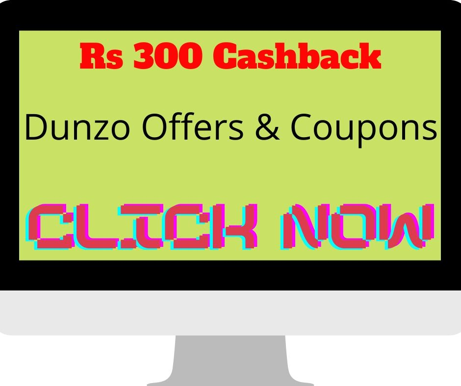 Dunzo Offers & Coupons 2020