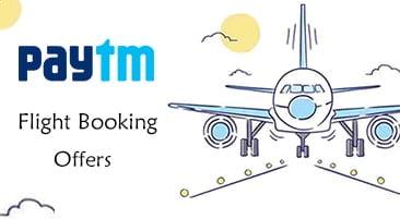 Paytm Flight Offers | Get Minimum Rs 200 Cashback