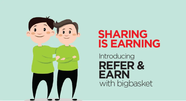 Looking for some extra discount – Check BigBasket Referral Code Details & Get Rs 100 on Each Referral