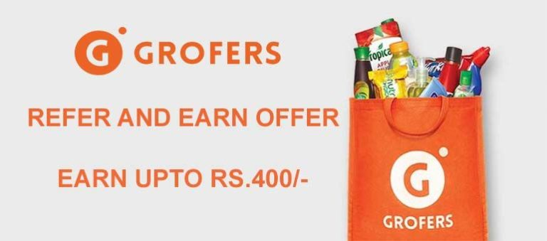Grofers Referral Code