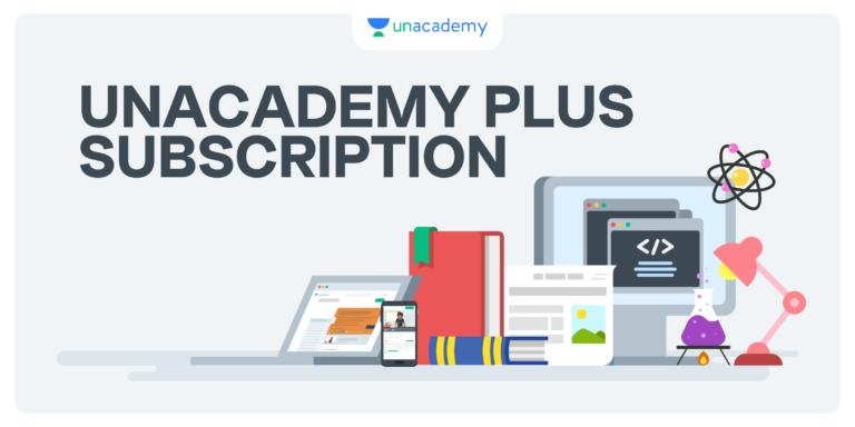 Unacademy Plus Subscription